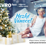 EVROfest - vizuál Vánoce