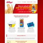 Vyhraj s Kelloggs - vizuál spotřebitelské soutěže