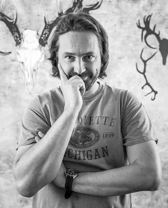 Daniel Tlamka, Kreativa, grafika